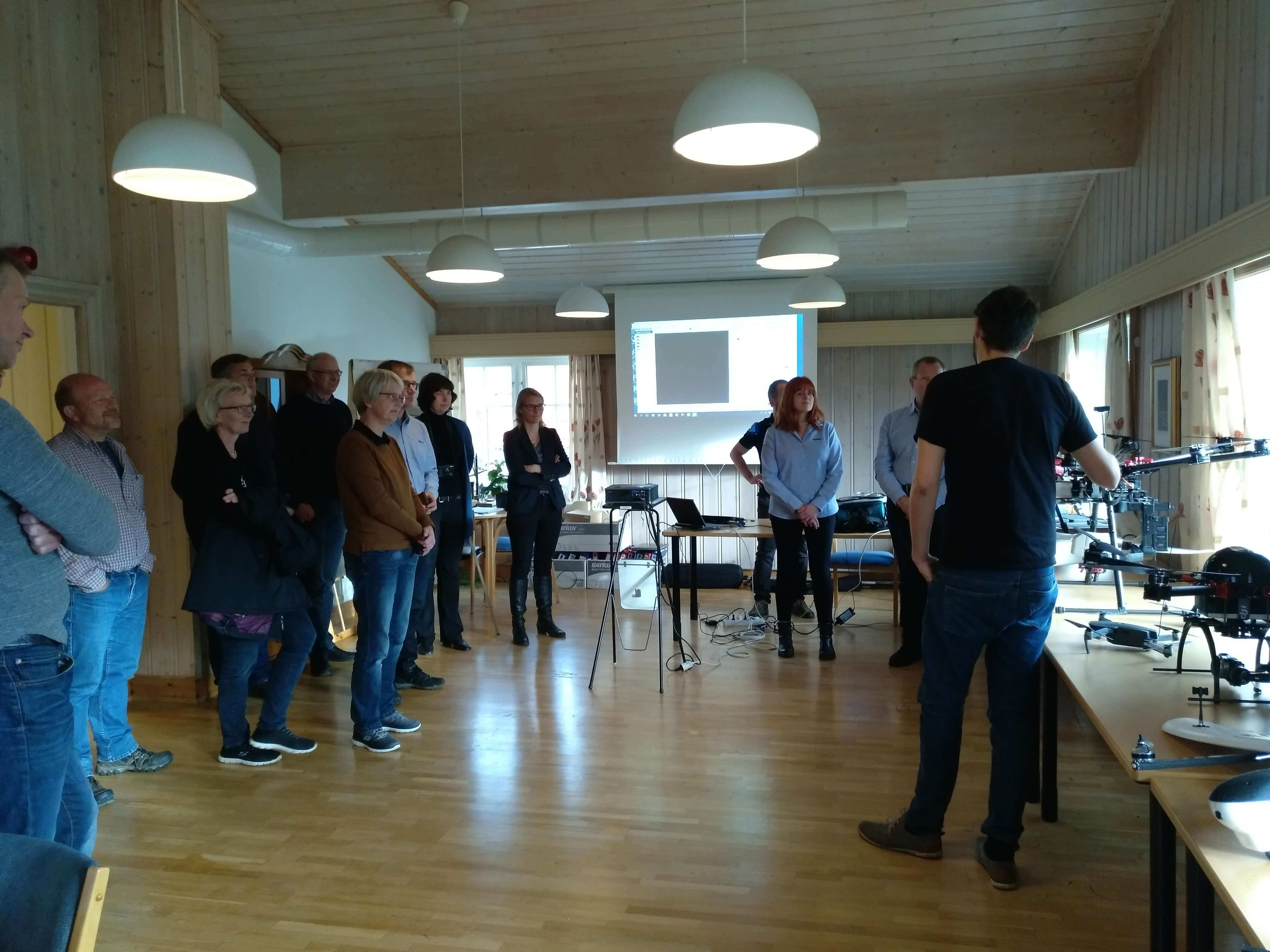 INTERREG project meeting at NIBIO Apelsvoll